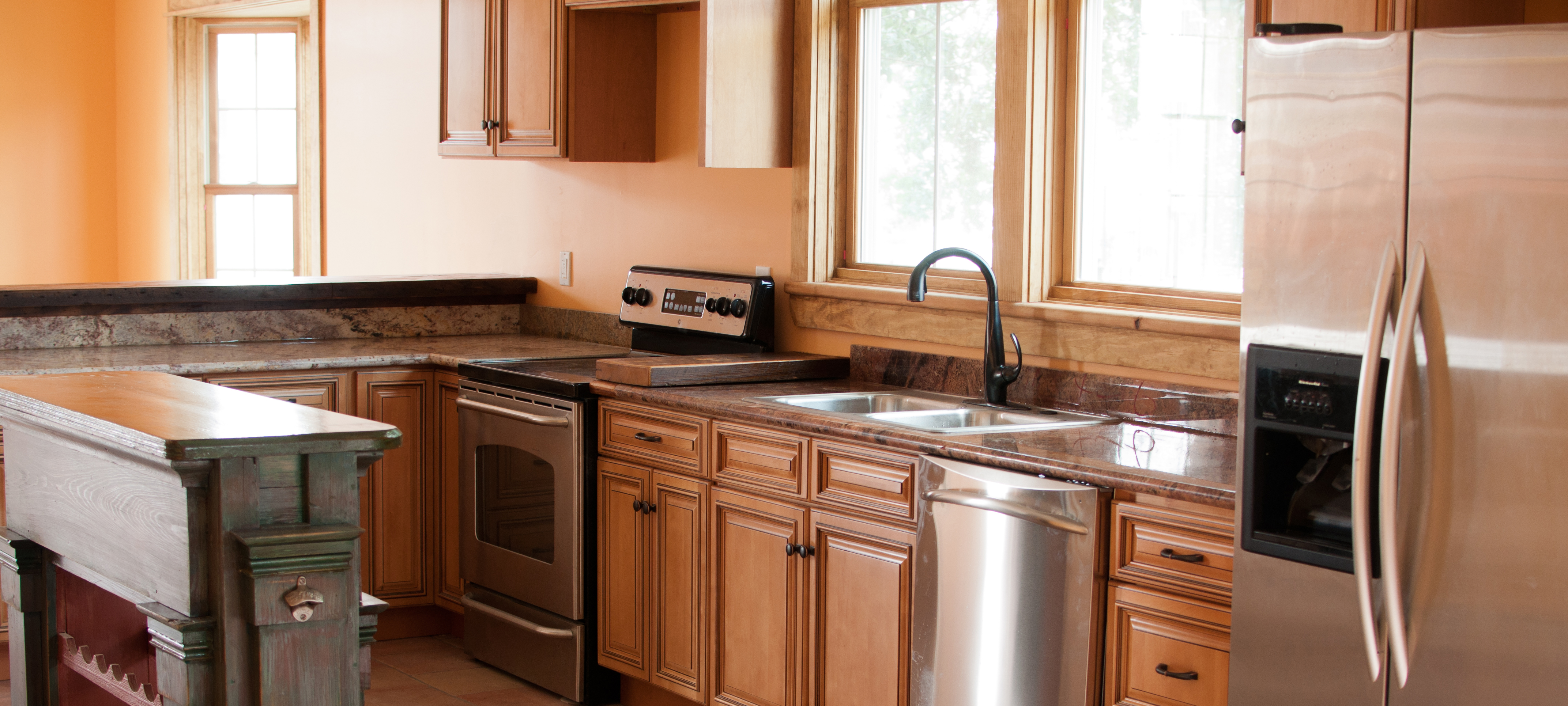 High quality Appliances and Countertops